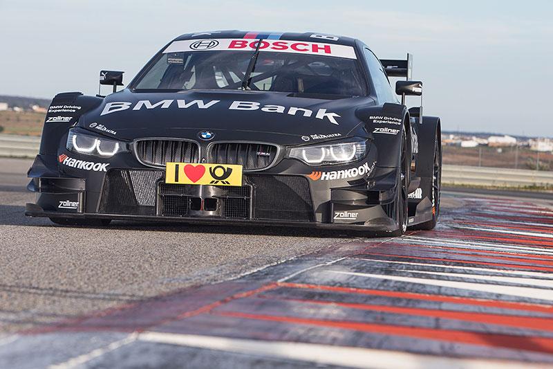 Foto-Shooting, BMW Bank M4 DTM.