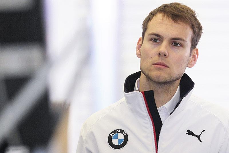 München, 2. Februar 2015. Tom Blomqvist, DTM, neuer Fahrer.