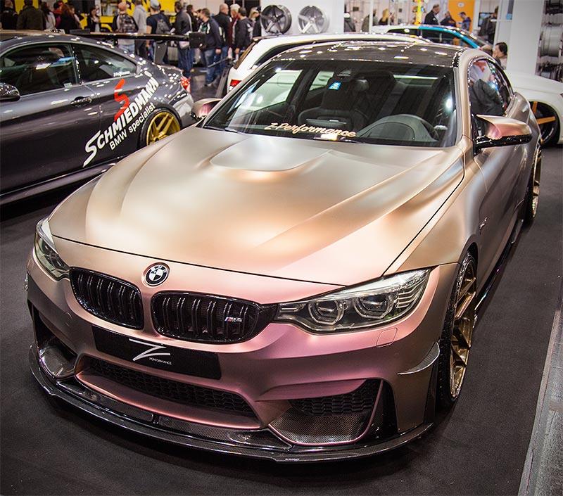 Bmw Z 2015: Foto: BMW M4 Von Z Performance, Essen Motor Show 2015