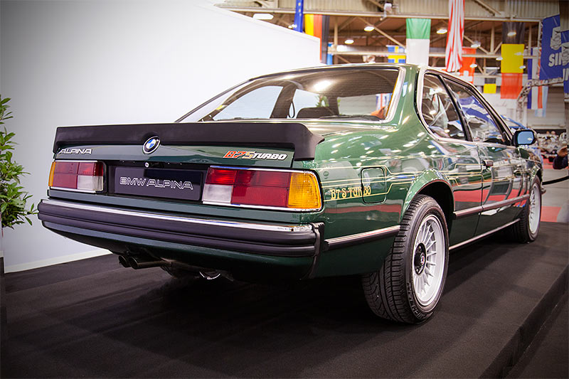 Alpina B7 S Turbo Coupé auf der Essen Motor Show 2015
