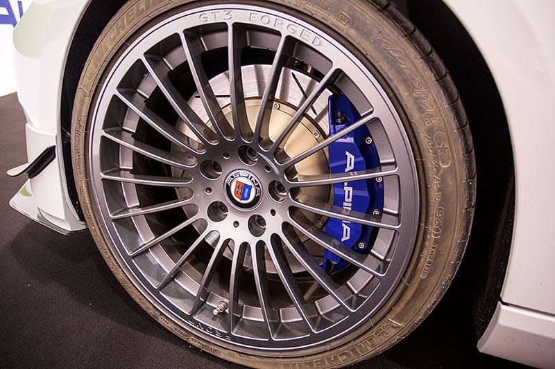 BMW Alpina B3 GT3, Rad