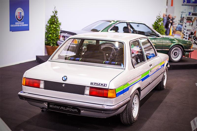 BMW Alpina 320 A4 auf der Essen Motor Show 2015