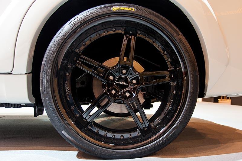 BMW X6 FALCON by AC Schnitzer auf 22 Zoll AC1 Leichtmetallfelge anthrazit