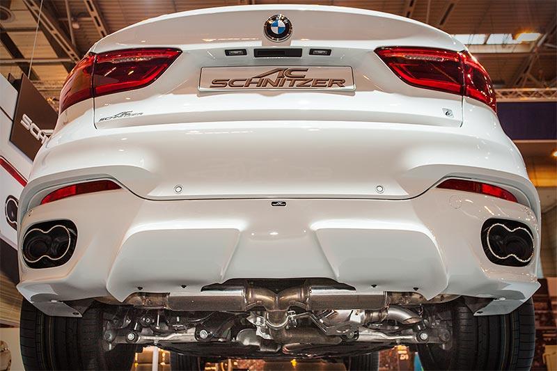 BMW X6 FALCON by AC Schnitzer, mit AC Schnitzer Schalldämpfern