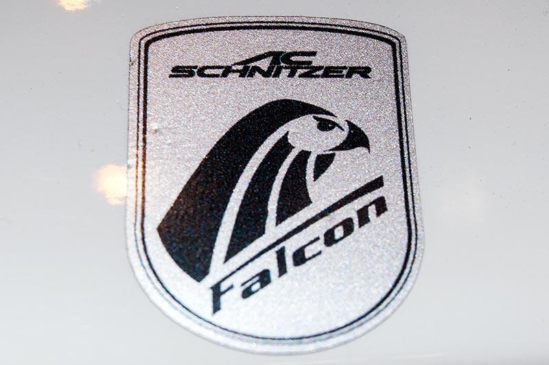 BMW X6 FALCON by AC Schnitzer, FALCON Vitro-Emblem