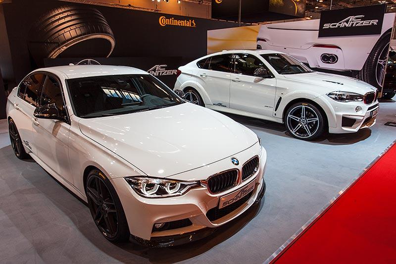AC Schnitzer ACS 3 3.0i neben dem BMW X6 FALCON by AC Schnitzer auf der Essen Motor Show 2015