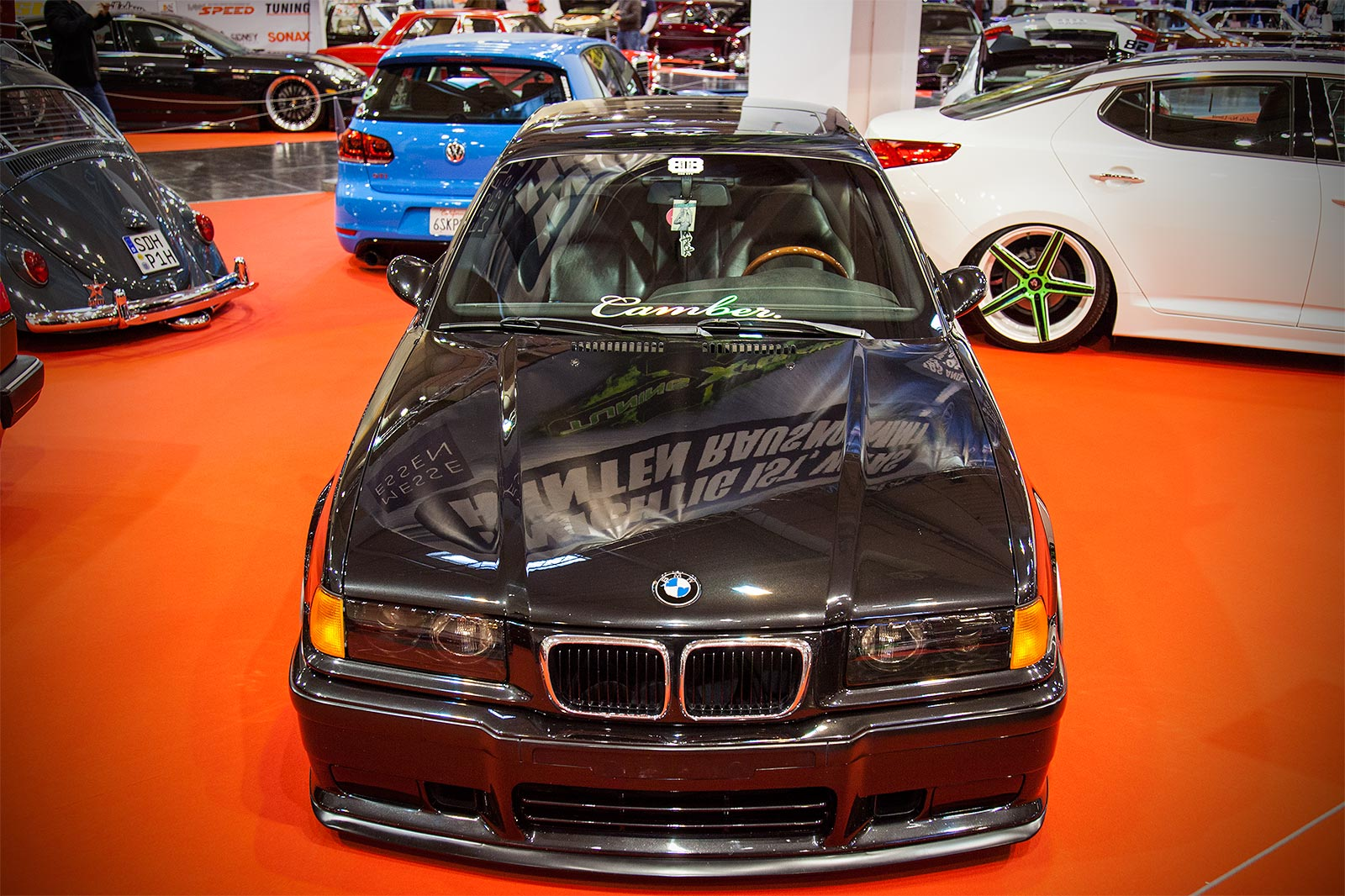 foto bmw 3er coup e36 in der tuning experience ausstellung auf der essen motor show 2015. Black Bedroom Furniture Sets. Home Design Ideas
