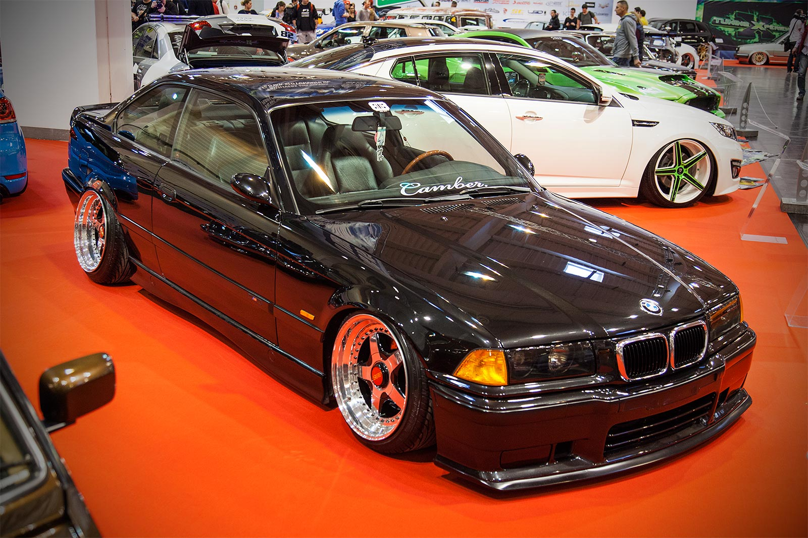 foto bmw 3er coup e36 in der tuning experience. Black Bedroom Furniture Sets. Home Design Ideas