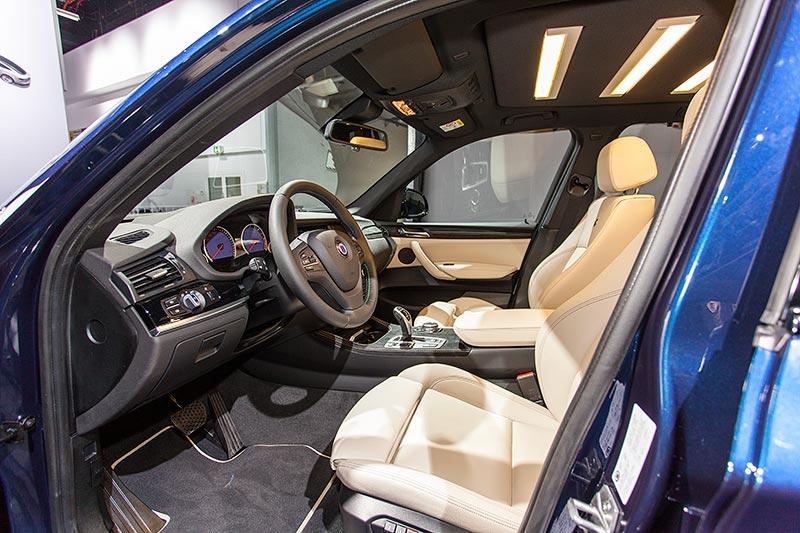 IAA 2015: Alpina XD3 BiTurbo, Interieur vorne