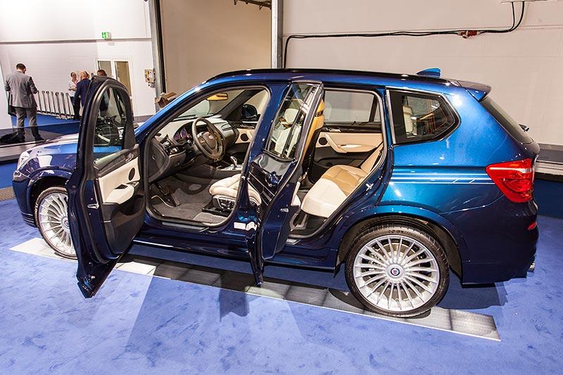 IAA 2015: Alpina XD3 BiTurbo