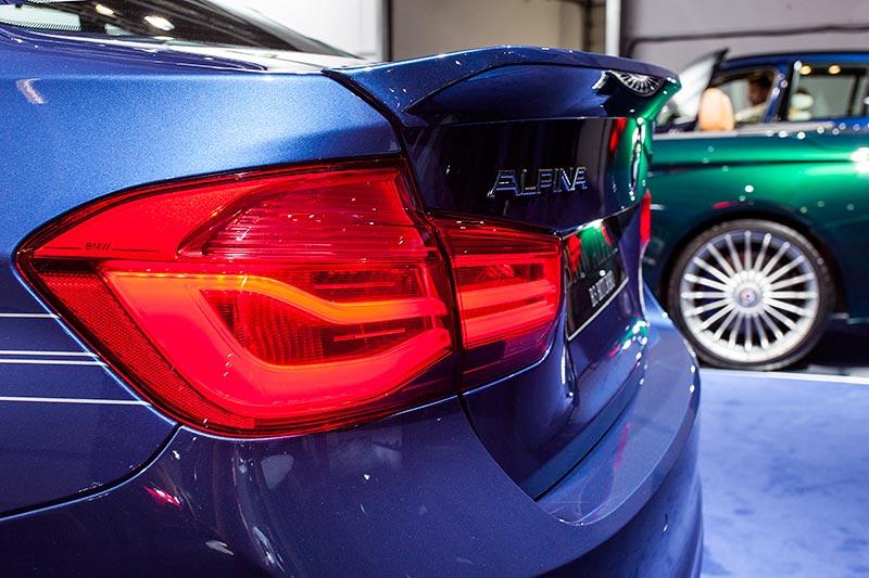 IAA 2015: Alpina B3 BiTurbo, Spoiler am Heck