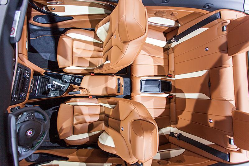 IAA 2015: Alpina D4 BiTurbo Cabrio, Innenraum