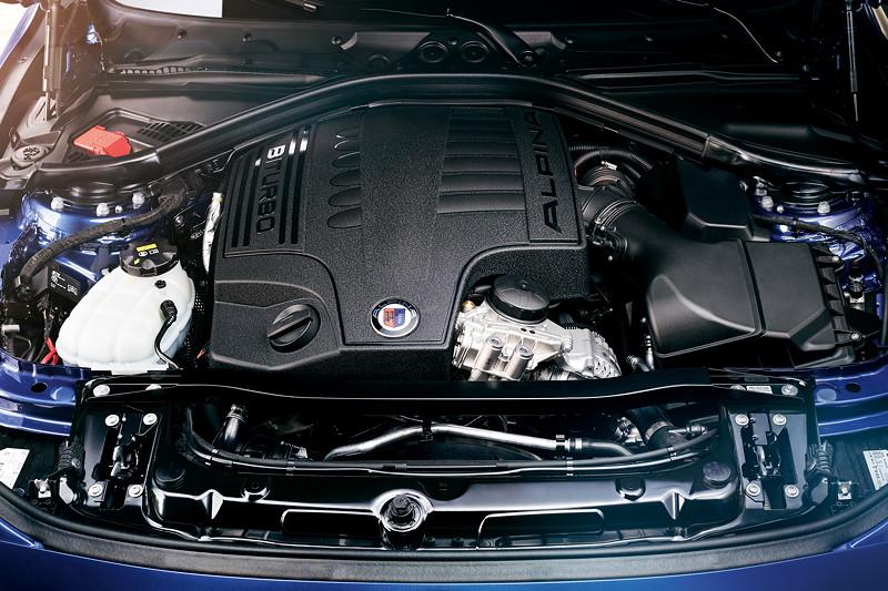 Alpina B3 BiTurbo, 3.0 Liter R6-Zylinder-Motor mit 410 PS