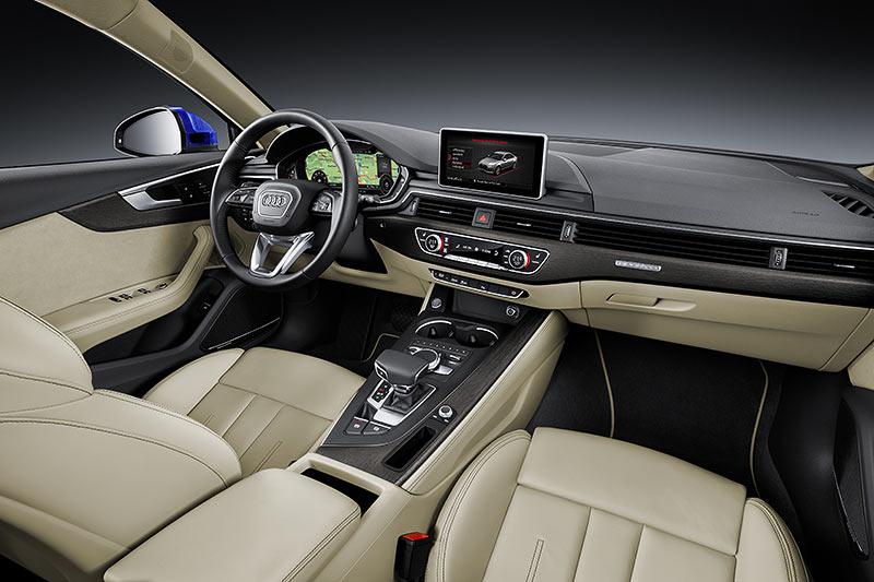 Weltpremiere auf der IAA 2015: der neue Audi A4, Cockpit
