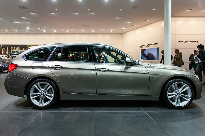 IAA 2015: BMW 320d Touring (F31, Facelift 2015)