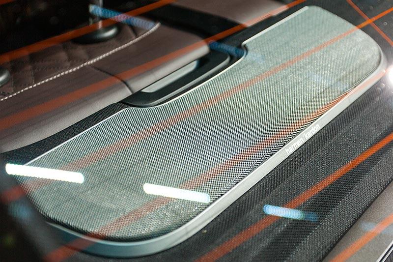 BMW 730d xDrive mit M Sportpaket, Harman Kardon Sound System, Lautsprecher auf der Hutablage