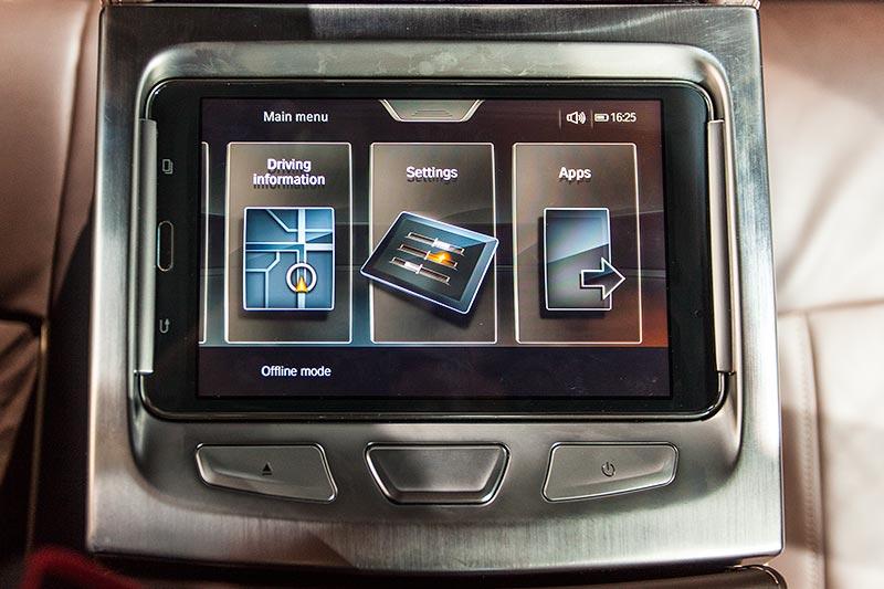 BMW 730d xDrive mit M Sportpaket, Touch-Command zur Bedienung wichtiger Fahrzeugfunktionen