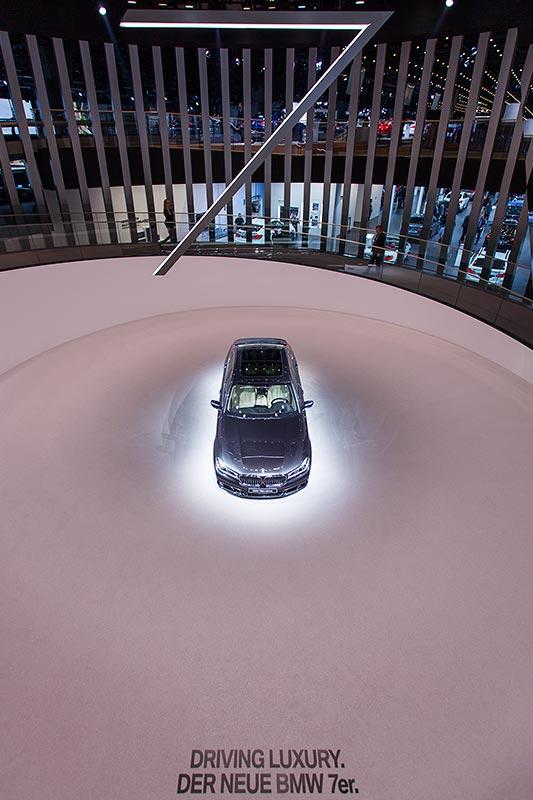 Weltpremiere: BMW 7er-Reihe, BMW Messestand, IAA 2015