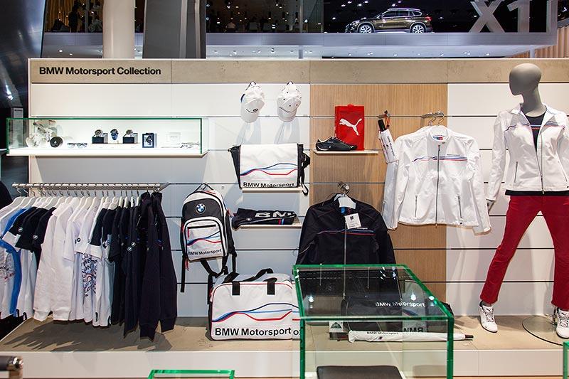 BMW Merchandising Artikel auf der IAA 2015
