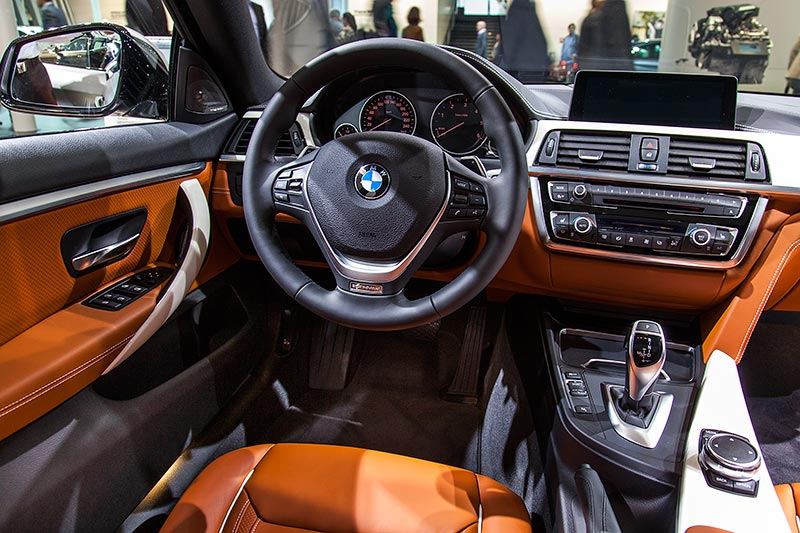 BMW 430d Gran Coupe Individual, Cockpit