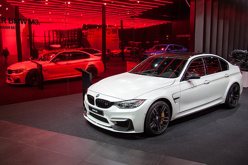 BMW M3 in Individual Frozen Brilliant White (Mehrpreis Lack 4.300 Euro)