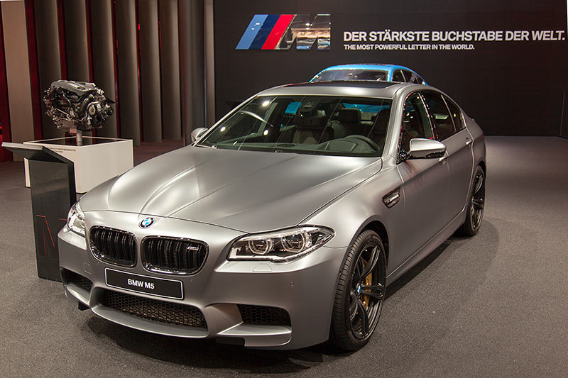 BMW M5 auf der IAA 2015