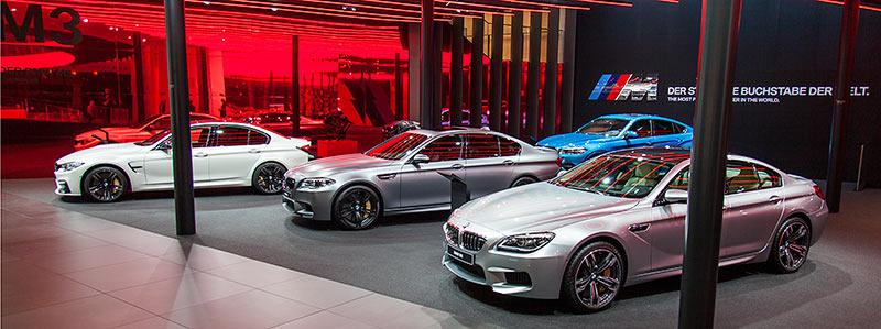 BMW M6 Gran Coupé auf der IAA 2015 in Frankfurt