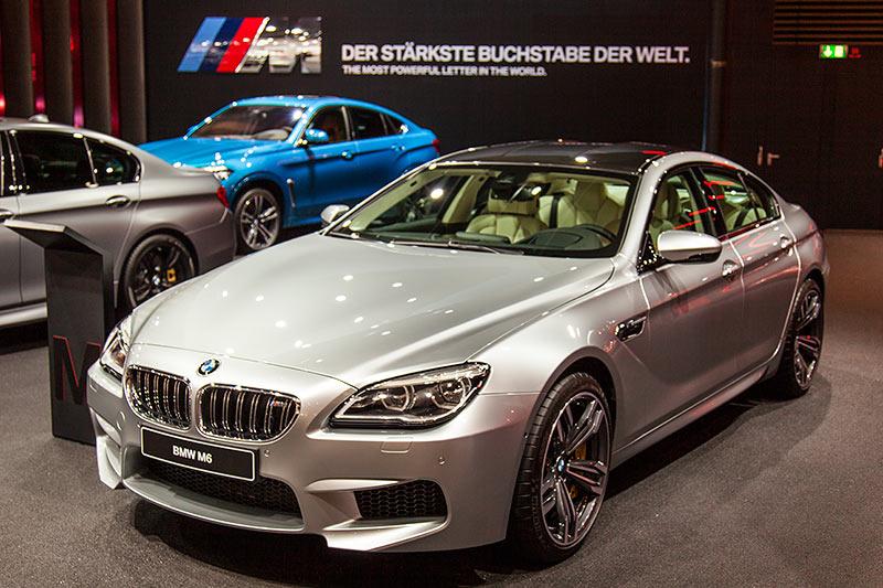 BMW M6 in Individual Sonderlackierung Pure Metal Silver (Mehrpreis Lack: 8.000 Euro)
