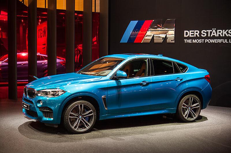BMW X6 M auf der IAA 2015