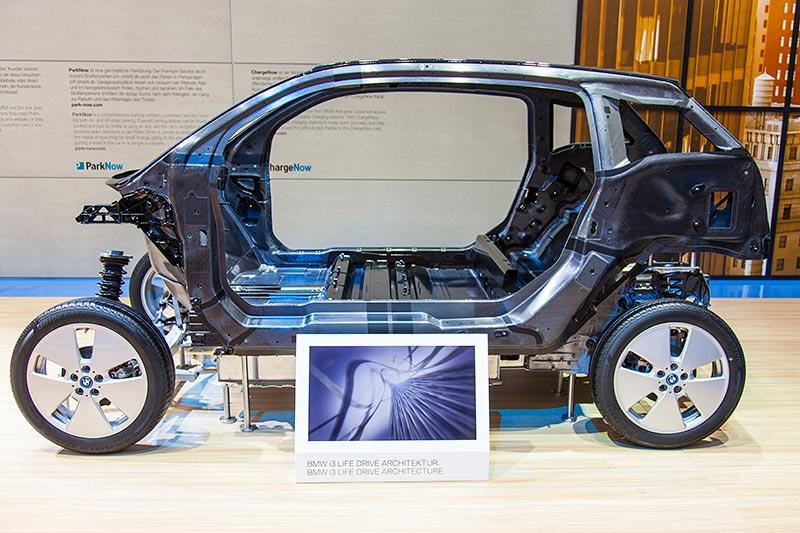 BMW i3, Life Drive Architektur