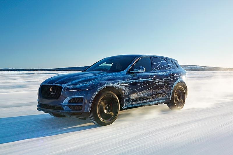 IAA 2015: Jaguar F-Pace