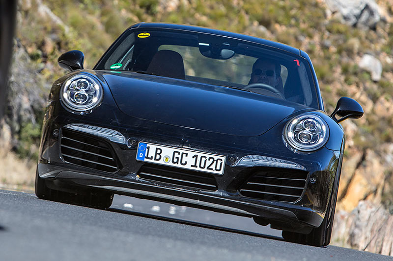 Facelift des Porsche 911