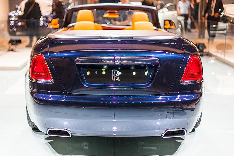 Rolls-Royce Dawn auf der IAA 2015