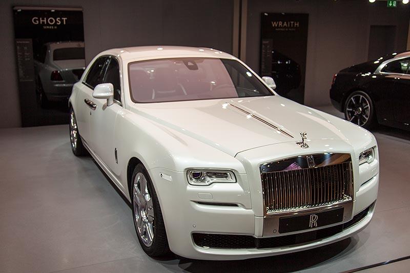 Rolls-Royce Ghost auf der IAA 2015