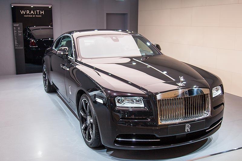 Rolls-Royce Wraith auf der IAA 2015