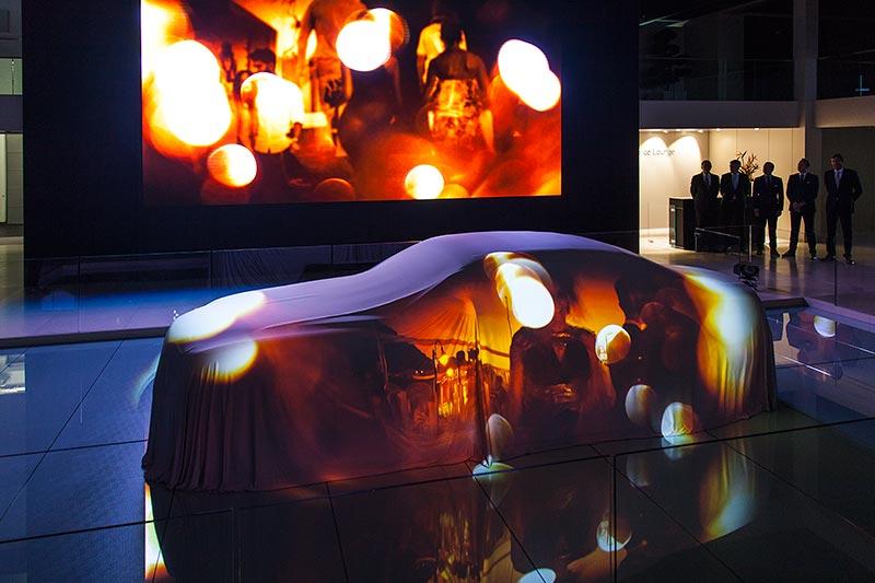 Rolls-Royce Dawn feiert seine Weltpremiere auf der IAA 2015