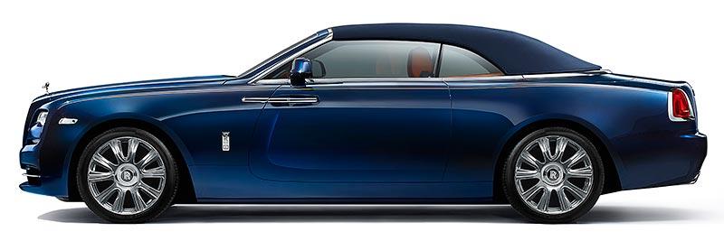 Rolls-Royce Dawn mit geschlossenem Verdeck