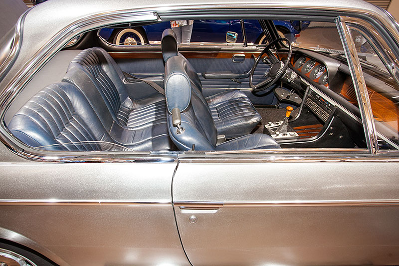BMW 2800 CS, Blick in den Innenraum