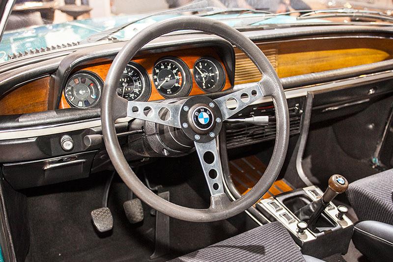 BMW 3,0 CSL, Innenraum