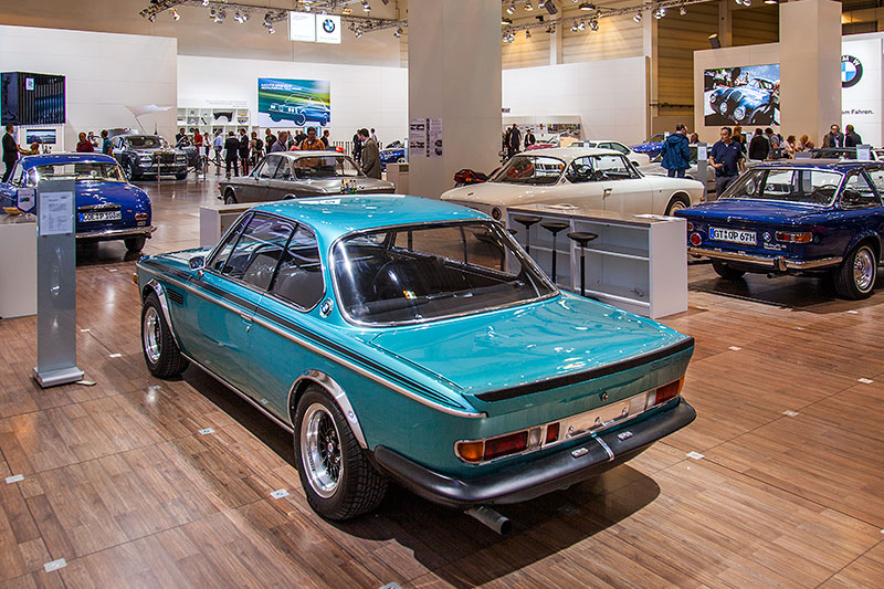 BMW 3,0 CSL, mit 6-Zylinder-Reihenmotor, Hubraum: 3.003 ccm