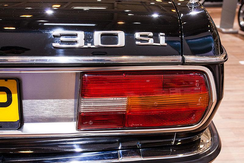 BMW 3.0 Si, Typbezeichnung auf dem Heck