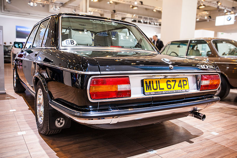 BMW 3.0 Si, wr auch mit Automatikgetriebe lieferbar
