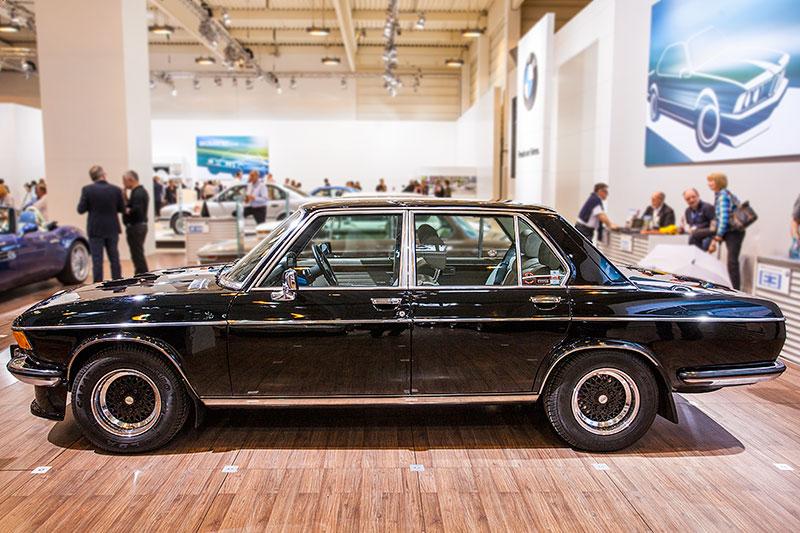 BMW 3.0 Si, ausgestellt vom BMW E3 Limousinen Club