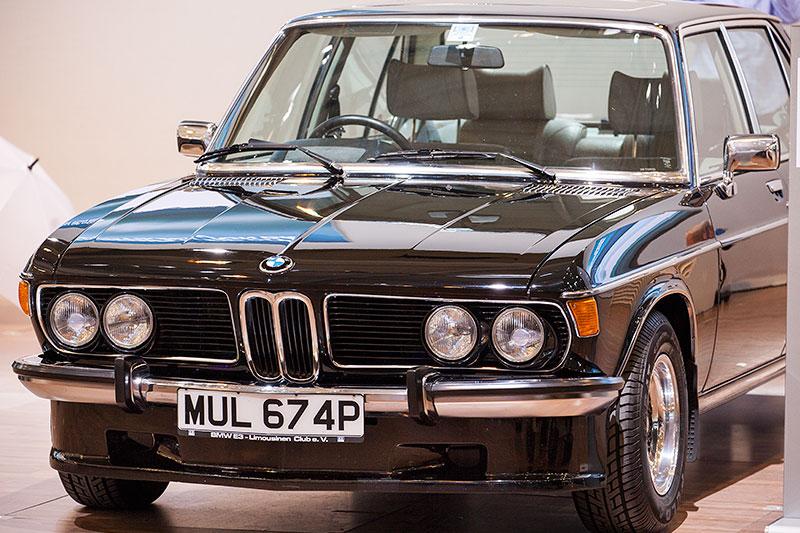BMW 3.0 Si, Baujahr 1974, ehemaliger Neupreis: 30.580 DM