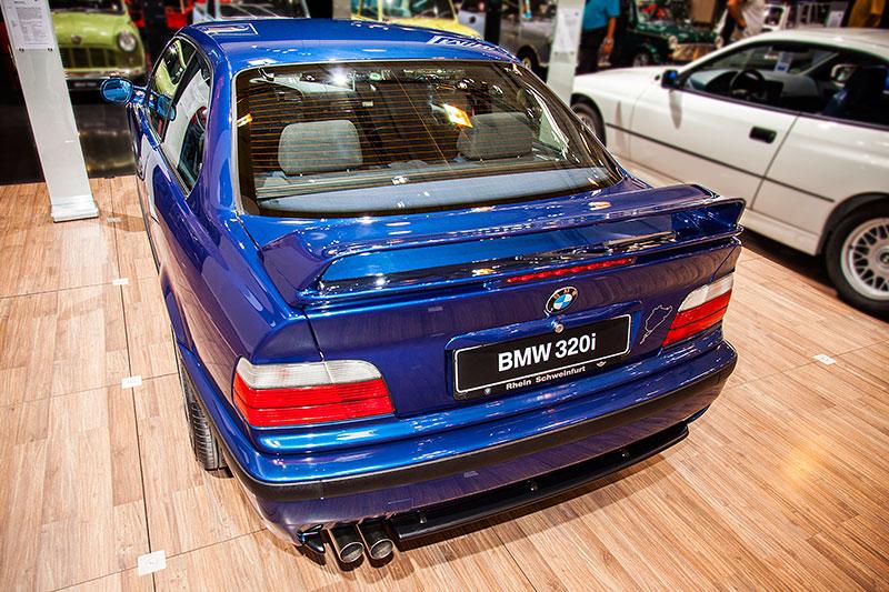 BMW 320i Clubsport, ausgestellt vom BMW 3er Club E36 e.V.
