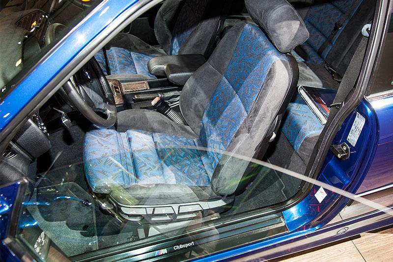 BMW 320i Clubsport, Interieur