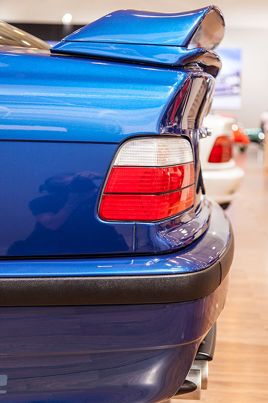 BMW 320i Clubsport mit grossem Heckspoiler