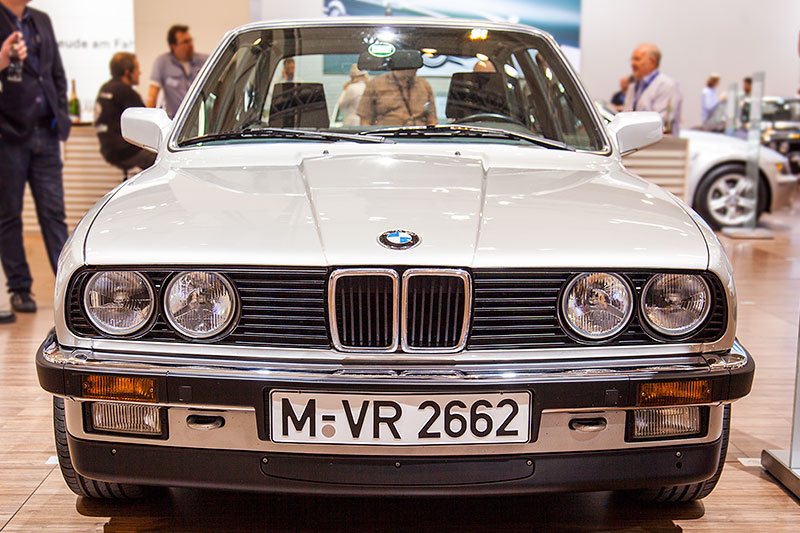 BMW 325e, Baujahr 1980, Stückzahl: 189.287