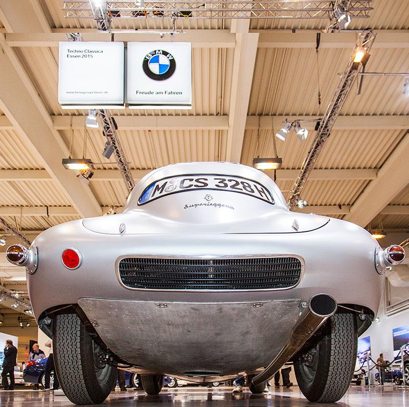 BMW 328 Touring Coupé auf der Techno Classica 2015