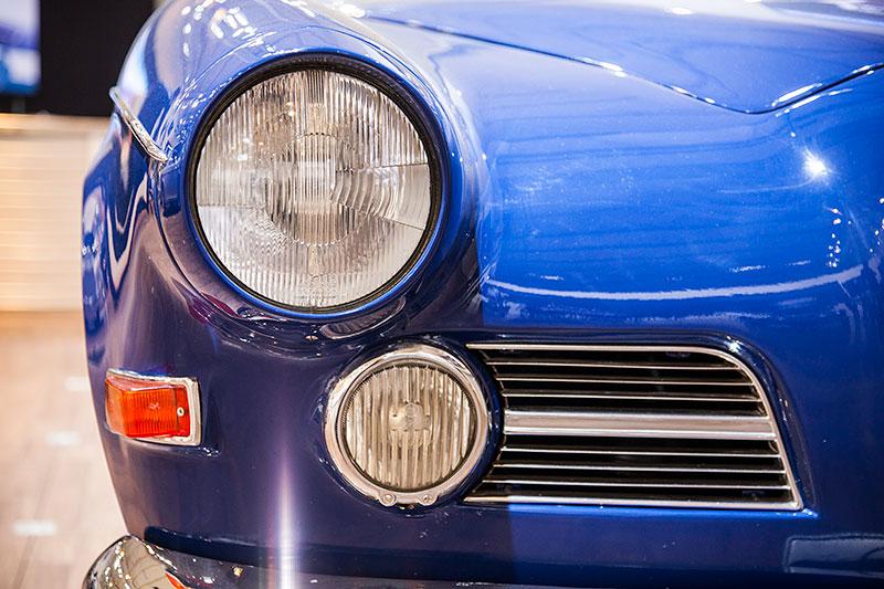 BMW 503 Coupé, Scheinwerfer